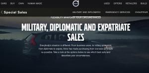 volvo diplomatic